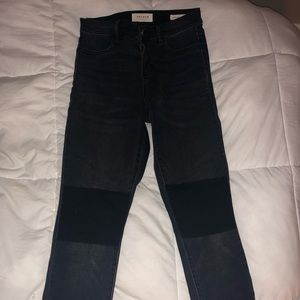 Black Pacsun High Rise Ankle Jegging